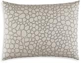 Vera Wang Crochet Lace Bubble Embroidery Decorative Pillow, 15 x 20