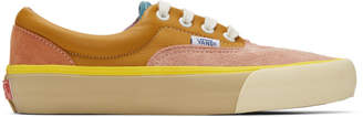 Vans Pink and Multicolor Era Vlt LX Sneakers