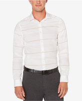 Perry Ellis Men's Non-Iron Dispersed Striped Shirt