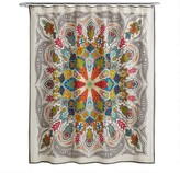 World Market Andana Medallion Shower Curtain