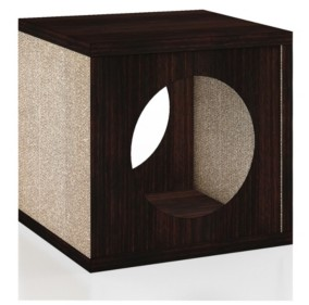 Way Basics Cat Cube Scratcher