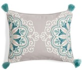 Levtex Addie Embroidered Tassel Pillow