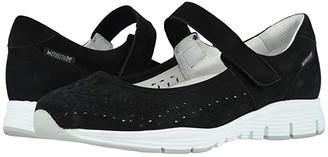 Mephisto Yelina Perf (Black Bucksoft) Women's Shoes