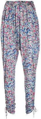 Isabel Marant Floral-Print Trousers