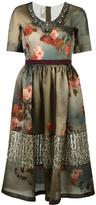 Antonio Marras floral print dress - women - Silk/Polyamide/Polyester - 42