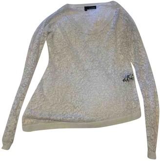 The Kooples White Linen Knitwear for Women