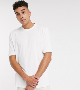 ASOS Tall loose fit heavyweight t-shirt in white