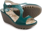 Fly London Yanca Wedge Sandals - Leather (For Women)