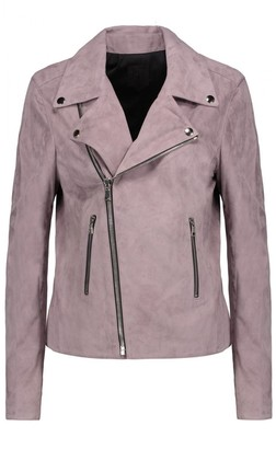 RtA Pink Suede Jacket for Women