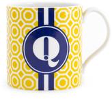 Jonathan Adler Mustard Carnaby Mug - Q