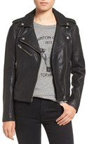 Current/Elliott Women's Roadside Leather Moto Jacket