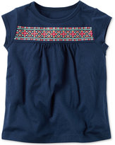 Carter's Puff Floral Cotton T-Shirt, Toddler Girls (2T-4T)