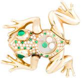 Chopard Kinetic Frog Brooch