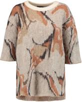 By Malene Birger Mitonas intarsia-knit sweater