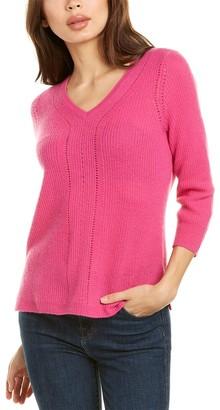 InCashmere V-Neck Cashmere Sweater