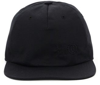 MM6 MAISON MARGIELA Logo Embroidered Baseball Cap