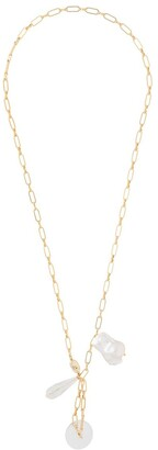 Timeless Pearly Hanging Pearl Necklace