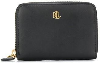 Lauren Ralph Lauren monogram plaque wallet