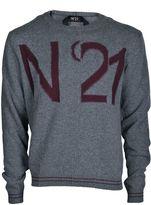 N°21 N 21 Logo Intarsia Jumper