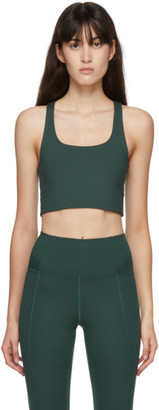 Girlfriend Collective Green Paloma Sports Bra