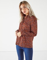 Fashion Union Animal Print Shirt