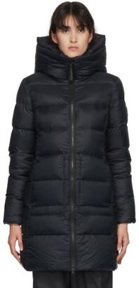 Kanuk Black Down Puffer Marilla Coat