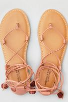 American Eagle Outfitters AE Strappy Ankle Tie Sandal