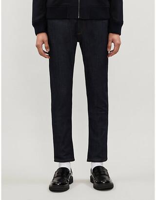 Sandro Skinny Raw slim-fit jeans