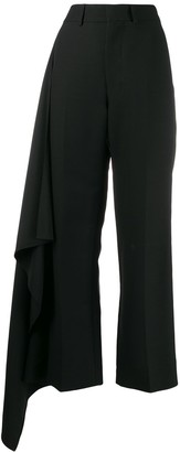 Ami Side Panel Wide Trousers
