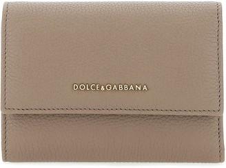 Dolce & Gabbana Logo Fold-Over Wallet