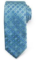 Haggar Geometric Neat Microfiber Tie