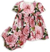 Dolce & Gabbana Baby's Two-Piece Floral Dress & Bloomers Set