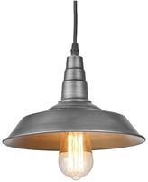Warehouse Lnc LNC 1-Light Barn Pendant Lamp Gunmetal Pendant Lighting Ceil