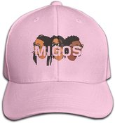 HiFive Migos Words Personalize Pure Color Baseball Cap Cotton Latest Fashion