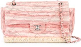 Chanel Pre-Owned 2010-2011 Espadrille Quilted shoulder bag