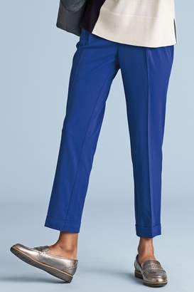 Next Womens Cobalt Elasticated Peg Trousers - Blue
