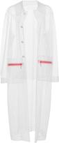 Christopher Kane Net Peg Bag Swarovski Coat