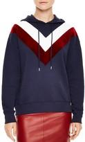 Sandro Gena Chevron-Detail Sweatshirt