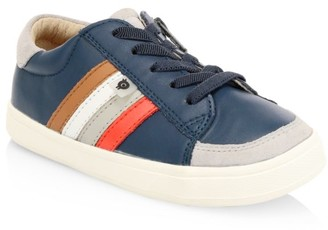 Old Soles Baby's, Little Kid's & Kid's Colorblock Stripe Leather Sneakers