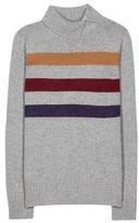 Loro Piana Dolcevita Striped Cashmere Sweater