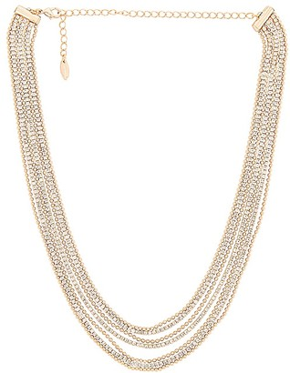 Ettika Layered Crystal Necklace