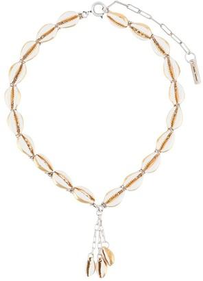 Isabel Marant Shell-Pendant Necklace