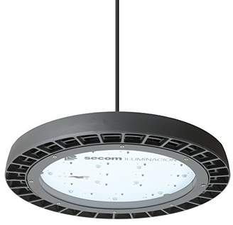SECOM s4290581585 – Bell Industrial LED 240 V, Cool White Light, Grey