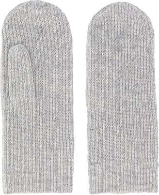 Isabel Marant Ribbed Knitted Mitts