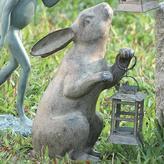 Rabbit Statue with Lantern
