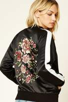 Forever 21 Contemporary Embroidered Jacket