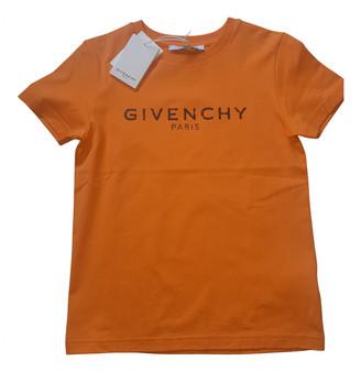 Givenchy Orange Cotton Tops