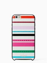 Kate Spade Jeweled fiesta stripe iphone 6 plus case