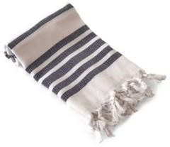 Olive and Linen Herringbone Turkish Hand/Kitchen Towel Bedding