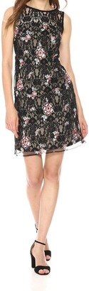 Taylor Dresses Women's Embroidered Lace Sheath Dress